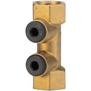 Watts Industries 2224101 - Clapet anti-pollution purge femelle 20x27 TYPE BB (la paire)