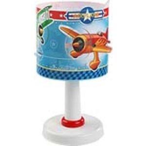 Dalber 62591 - Lampe de chevet ronde Airplane