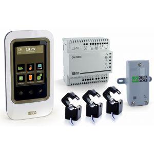 Delta Dore GESTIONNAIRE ENERGIE 2 ZONES TACTILE 6050600