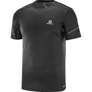 Salomon Agile - T-shirt course à pied Homme - noir XL T-shirts course à pied