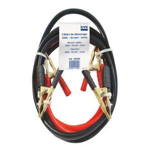 GYS Câbles de démarrage 2 pièces 320 A 3 m 16 mm²
