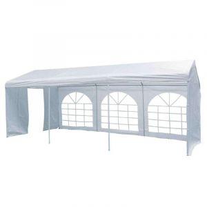 Tente de réception Luxe blanche 3 x 6 m