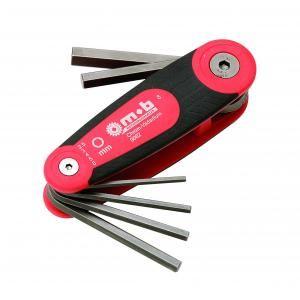 Mob 9062011201 - Monture 6 clés mâles hexagonales CRV