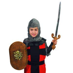 Bouclier et épée de chevalier enfant