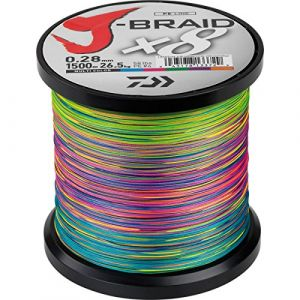 Daiwa Tresse J Braid 8 brins 1500 m Multicolore 24/100