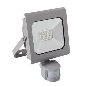 Image de Kanlux Projecteur LED 20 watt IP44 avec détecteur de mouvement - Finition - Grise