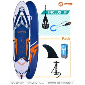 ZRay Stand Up Paddle X-Rider 12' - 365x81x15cm