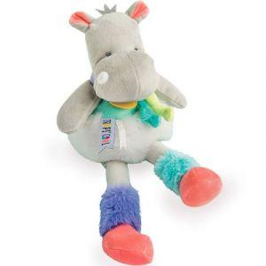 Doudou et Compagnie Peluche Tropi'cool Hippopotame (30 cm)