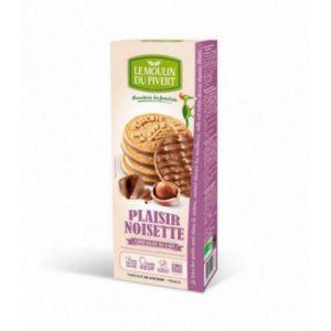 Le Moulin du Pivert Sablés Plaisir Noisette Bio Chocolat au lait 130g