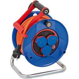 Brennenstuhl Enrouleur de câble Garant Bretec IP44 25m AT-N07V3V3-F 3G1,5
