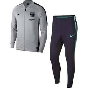 Nike Survêtement de football FC Barcelona Dri-FIT Squad pour Homme - Gris - Taille L