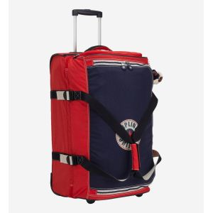 Kipling Sac de voyage à roulettes Teagan M - 67 cm Active Red Bl rouge