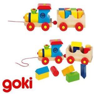 Goki Jouet à tirer : Train