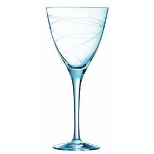 Cristal d'Arques 9204424 - Coffret de 6 verres à pied Ondulation (30 cl)