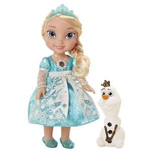 Taldec Poupée Princesses Disney : La Reine des neiges - Elsa chantante
