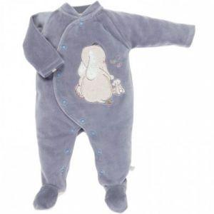 Noukies Pyjama velours Wapi (Naissance : 50 cm)