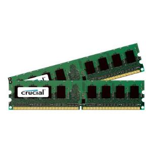 Crucial CT2KIT25672AA80EA - Barrette mémoire 4 Go (2 x 2 Go) DDR2  800 MHz DIMM 240 broches