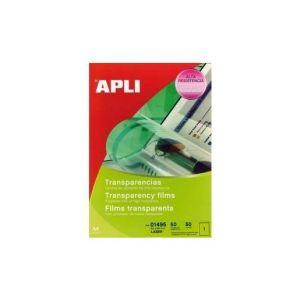 APLI Film transparent Agipa - pour imprimante laser couleur - boite de 50