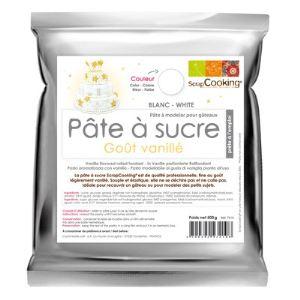 Scrapcooking Pâte à sucre qualité professionnels (500 g)