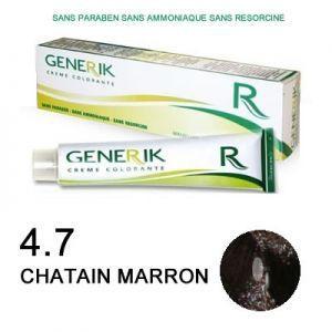 Generik Coloration sans ammoniaque n°4,7 Châtain marron