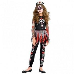 """Déguisement """"Day of the Dead"""" Ado fille - taille 14/16 ans"""