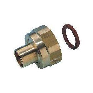 Clesse PP04525 - Raccord P45-41 2 pièces à écrou tournant à braser sur tube cuivre D14 pour butane propane sous coque