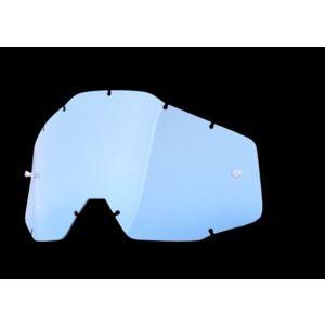 100% Blue Lens Anti-fog For Racecraft/accuri/strata