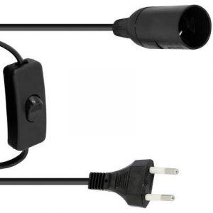 Omnitronic EUROLITE Culot E27Câble d'alimentation Prise Interrupteur