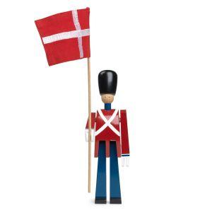 Kay Bojesen Porte-drapeau avec drapeau en tissu 22 cm