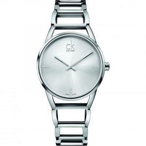 Calvin Klein K3G23126 - Montre Femme - Quartz Analogique - Bracelet Acier Inoxydable Argent