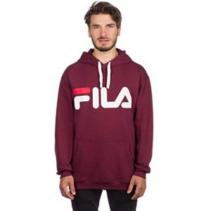 FILA Sweat-shirt Pure hoodie sweat cap rouge - Taille EU M,EU L