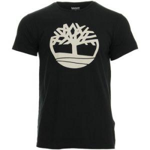 Timberland T-shirt SS KENNEBEC RIVER BRAND LINEAR TEE Noir - Taille XXL,S,M,L,XL