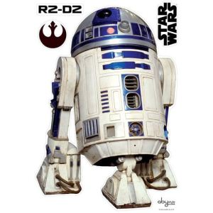 Abystyle ABYDCO096 - Planche de stickers muraux R2D2