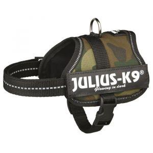 Julius K9 Harnais Power Baby 2/XS?S: 33/45cm camouflage pour chien