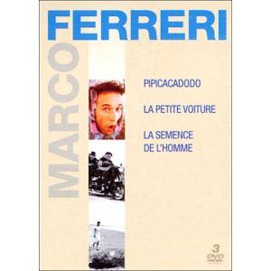 Coffret Marco Ferreri - La petite voiture + La semence de l'homme + Pipicacadodo