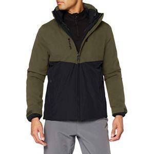 Lafuma Access 3In1 Fleece JKT M Veste 3 en 1 Homme, Dark Bronze, FR : S (Taille Fabricant : S)