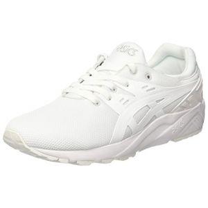 Asics Gel-Kayano Trainer Evo, Chaussures de Tennis Homme, Bianco, Blanc (White/White), 39.5 EU