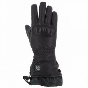 VQuattro Gants cuir chauffants Virago 18 Heating noir - 2XL