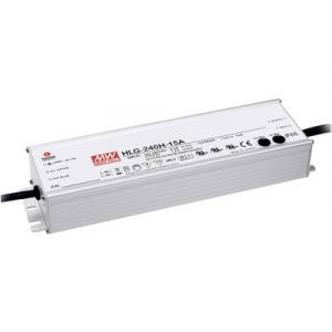 Mean well Driver LED HLG-240H-12A 12 V DC 16 A