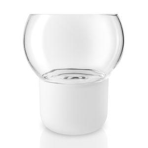 Eva Solo Cache-pot pour orchidée Ø 15cm - transparent/blanc/H 17cm