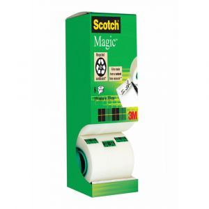 Scotch 8-1933R8 - Tour distributrice de 8 rouleaux Magic 19mmx33m