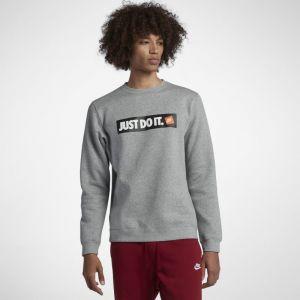 Nike Sweat-Shirt NSW Crew Fleece - Gris