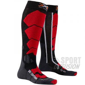 X-Socks X Socks Ski Control Rouge Anthracite
