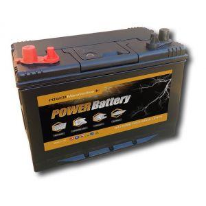 AGM Power battery Batterie décharge lente camping car bateau 12v 120ah 330x172x242mm