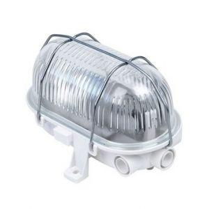 Aric Hublot extérieur ovale - Verre - E27 - 60W - IP44 - Dimmable - Sans ampoule