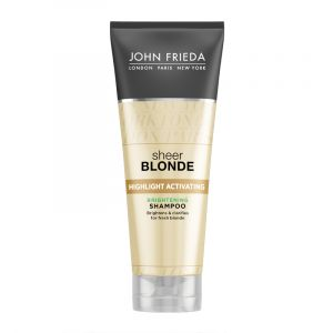 John Frieda Sheer Blonde Highlight Activating - Shampooing démêlant nutritif éclaircissant