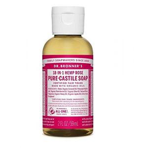 Dr bronner's Savon Magique à la Rose - 59 ml