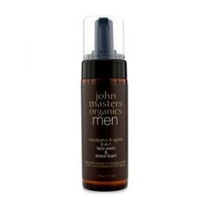 John Masters Organics Eucalyptus and Agave 2-in-1 Face Wash and Shave Foam