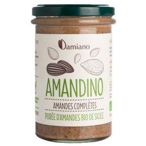Damiano Purée d'amandes complètes Amandino - 275 g