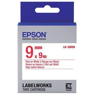Epson LabelWorks LK-3WRN - bande d'étiquettes
